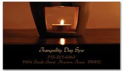 BCS-1087 - salon business card