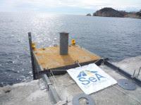Prototip instal.lat al Port de Sant Feliu de Guixols
