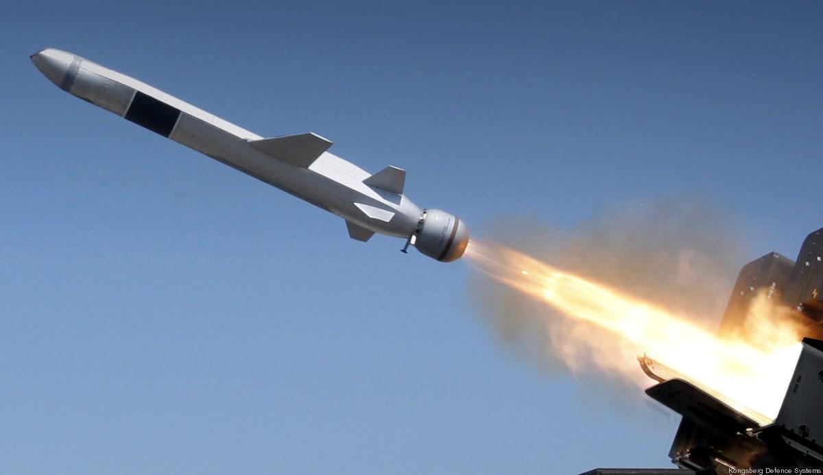 Resultado de la imagen para Kongsberg, el misil de ataque naval
