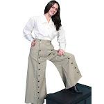 Scully Rw529-tan-16 Women Rangewear Brushed Twill Riding Skirt - Tan