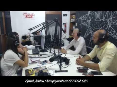 Entrevista con información detallada acerca de la micropigmentación - a Grant Ashley en Sputnik Radio Mallorca