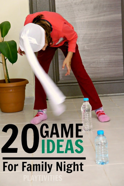 20 Family Game Night Ideas - PLAYTIVITIES