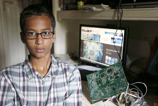 9th-Grade Maker Arrested Because His Clock Project Looked Like a Fake Bomb | Make: DIY Projects, How-Tos, Electronics, Crafts and Ideas for Makers