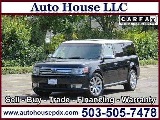 2009 Ford Flex Limited - Auto House LLC - Used Car Dealership - Portland OR