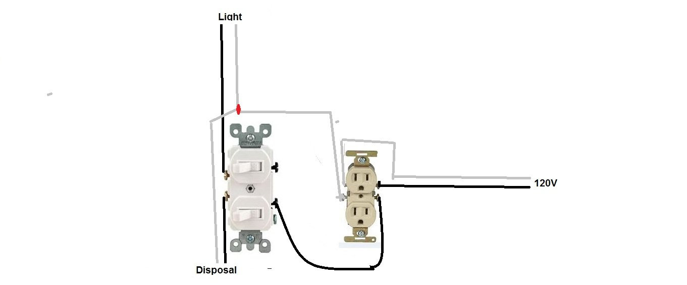 Wiring Diagram For Double Pole Light Switch