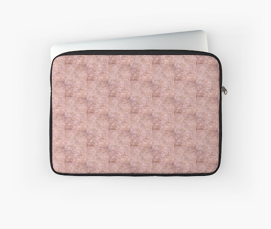 'Summer Pink ' Laptop Sleeve by Denise  Vasquez