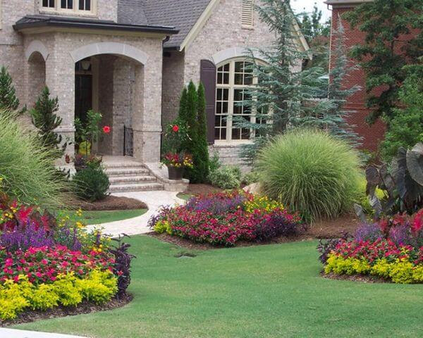 Flower bed ideas for front of house - Gardening flowers ...