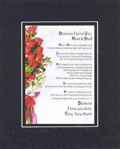 Mother And Father Poems And Quotes