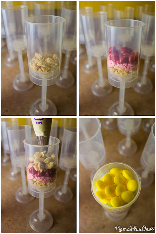 No-Bake Skittles Push Pops in YOUR Team's Colors! - Mama Plus One