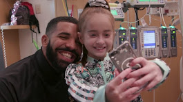 Birthday wish granted: Drake visits 11-year-old Downers Grove patient at Lurie Children's Hospital