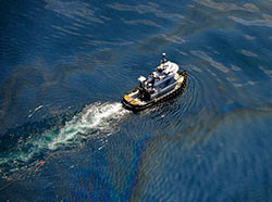 Aerial images of the Deepwater Horizon oil spill