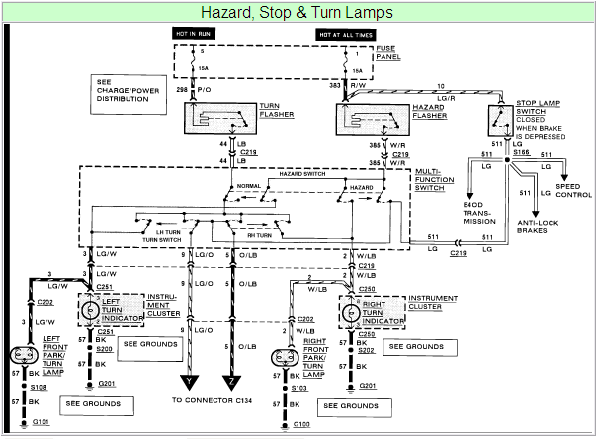 1990 Ford F250 Tail Light Wiring Diagram - Wiring Diagram