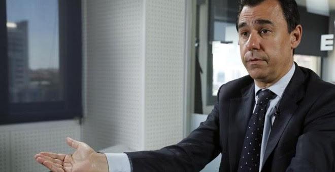 El coordinador general del PP, Fernando Martínez-Maíllo, en una entrevista con Efe. EFE/Ángel Díaz