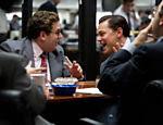 """Jonah Hill é Donnie Azoff e Leonardo DiCaprio é Jordan Belfort em """"O Lobo de Wall Street"""""""