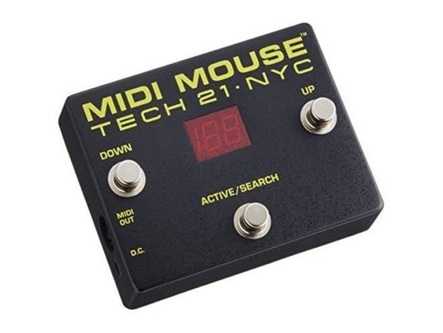 Tech 21 MM1 MIDI Mouse Controllers For Stage and Studio Applications - Black (Like New, Damaged Retail Box) for $99