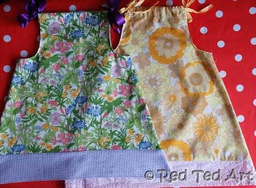 how to make a pillow case dress