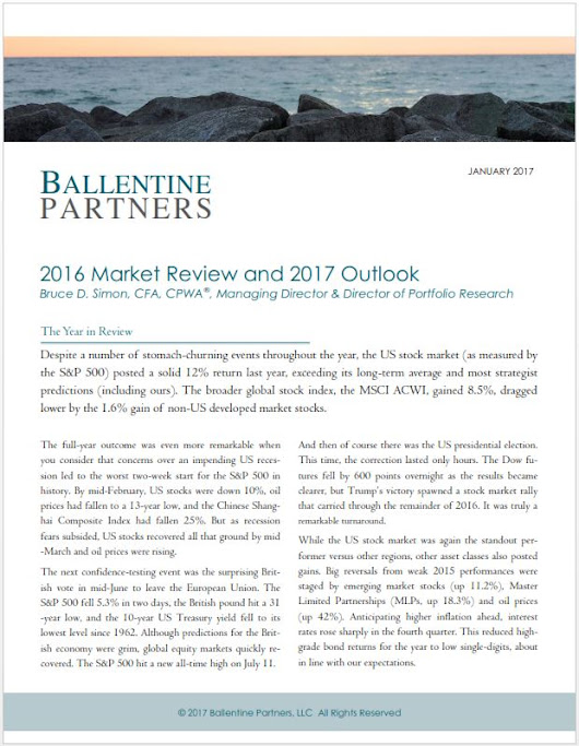 2016 Market Review and 2017 Outlook | Ballentine Partners