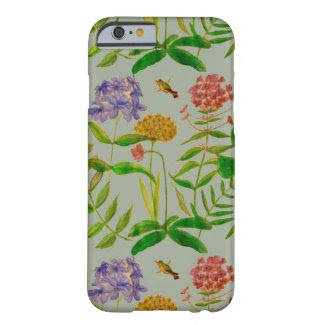 Botanical Illustration on iPhone 6/6S Case Barely There iPhone 6 Case