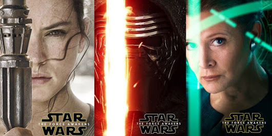 Star Wars: The Force Awakens Character Posters Released