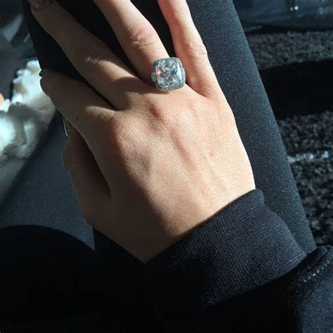 Kylie Jenner ENGAGED? TV star posts pic of huge diamond