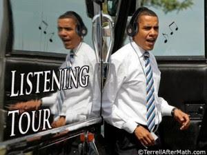 Obama Listening Tour SC 300x225 Obamas Cowardice