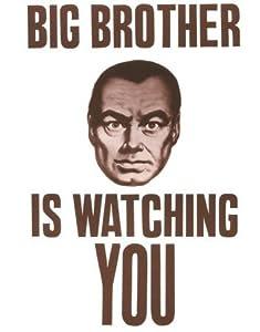 Cartel: Gran hermano te vigila