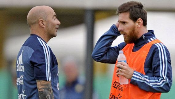 Argentina vs Nigeria: Messi may not have saved us from defeat to Super Eagles – Sampaoli