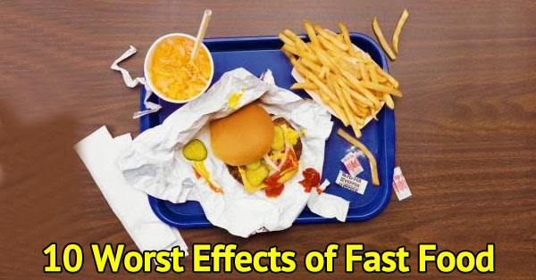 List Of Health Risks Of Eating Fast Food