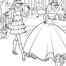 Princess Tori And Keira Popstar Coloring Pages Hellokidscom