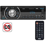 Soundstorm ML41B SSL Single DIN Bluetooth Wireless Digital Media Car Receiver by VM Express