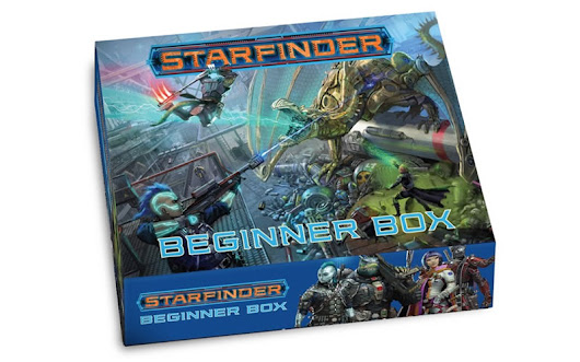 Starfinder Beginner Box Coming Spring 2019 - Tribality