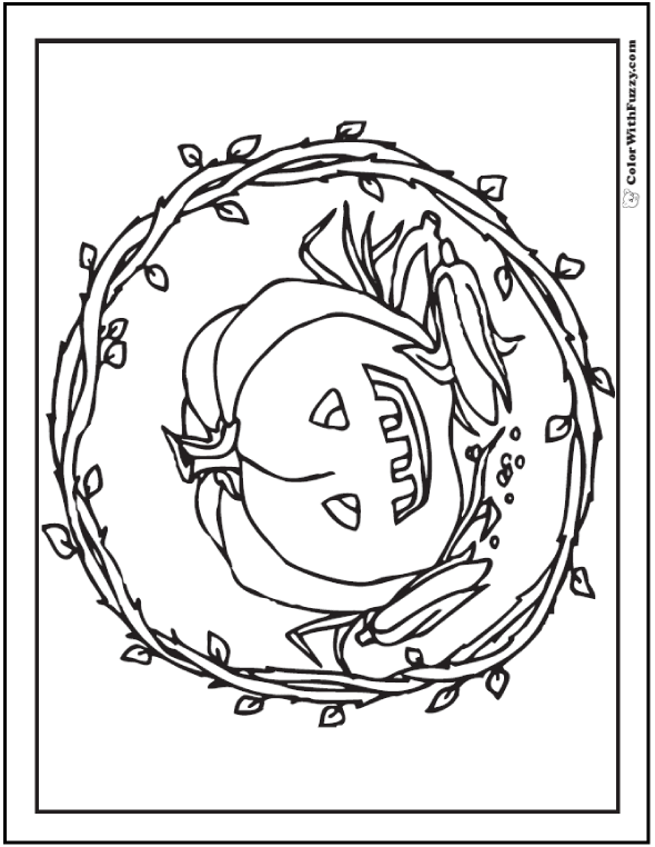 72  Halloween Printable Coloring Pages: Customizable PDF