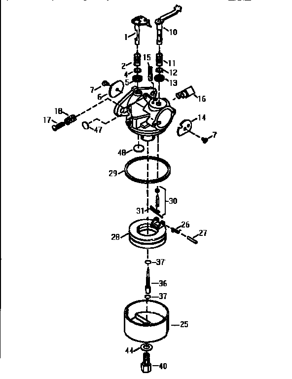 Sengoonkon Sopo: tecumseh carburetor diagram