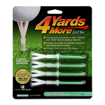 """4 Yards More Golf Tee - 4"""" Extreme (4 Green Tees)"""