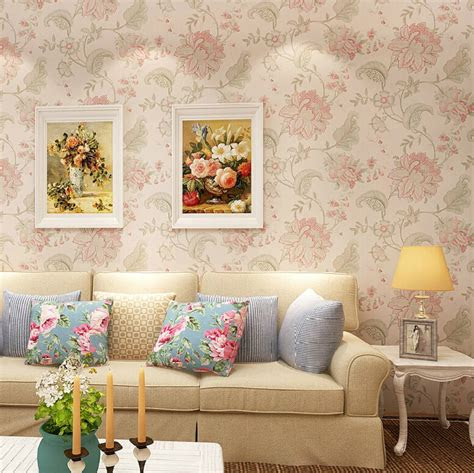 trending wallpaper designs  living room