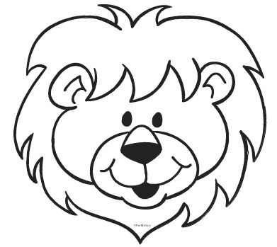 Drawing Skill Lion Face Black And White Drawing Lion drawing outline entry by for freelancer cartoon contest. drawing skill blogger