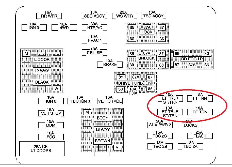 28 2004 Chevy Tahoe Fuse Box Diagram - Wiring Diagram List