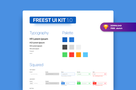 Freest - FREE Form UI KIT - Graphic Ghost