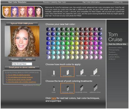 Come provare i tagli di capelli online Beauty - cambiare il colore dei capelli online