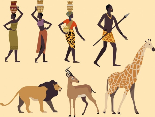 82 Gambar Gambar Hewan Tribal Gratis
