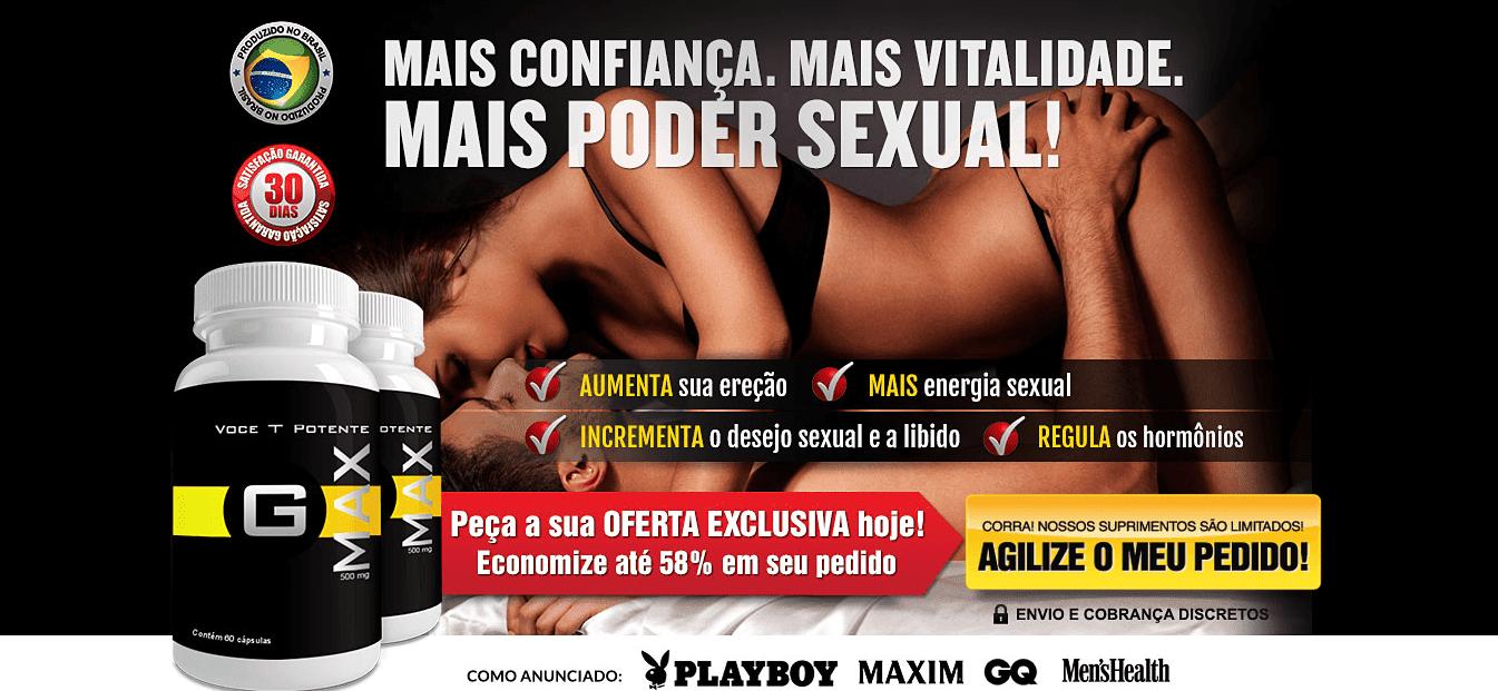 SUPLEMENTO VITAMÍNICO PONTENCIALIZADOR SEXUAL - GMAX