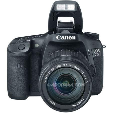Canon EOS-7D with EF-S 18-135mm f/3.5-5.6 IS Kit Only $1499 (save $300)