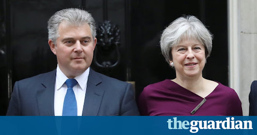 Tory chairman defends Theresa May's botched reshuffle | Politics | The Guardian