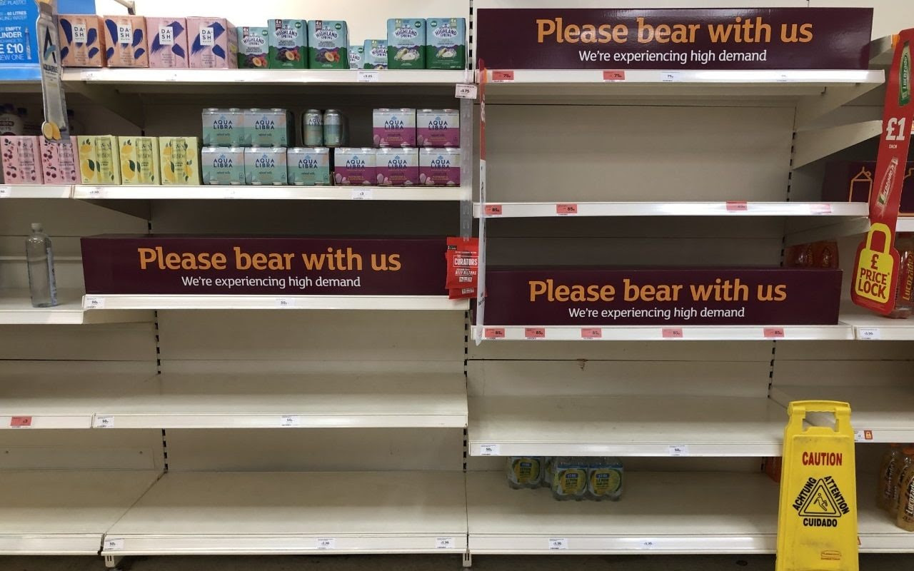 Supermarkets cancel home deliveries and businesses rebel as pingdemic chaos continues