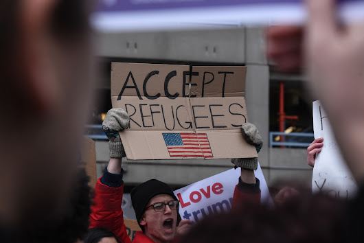 Trump blocks Muslim refugees, America loses a part of itself