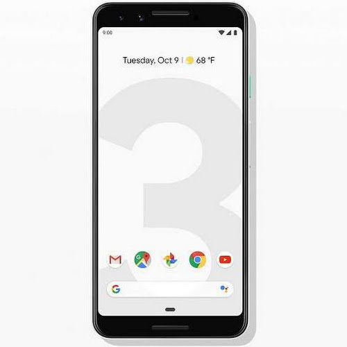 Google Pixel 3 - 128 GB - Clearly White - Unlocked - CDMA/GSM