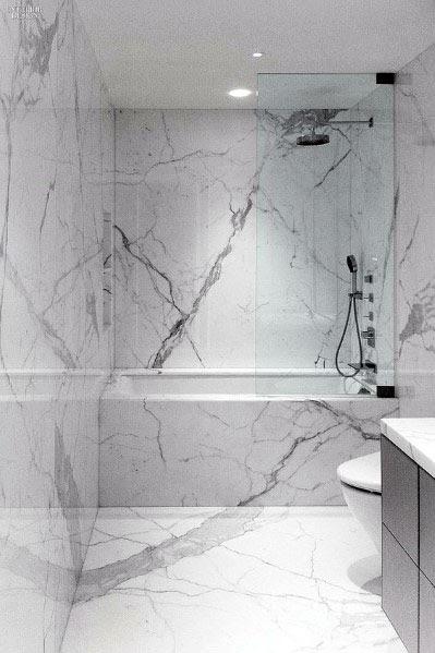 Bathroom Floor Marble Design