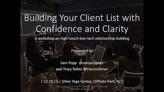 Building Your Client List with Confidence and Clarity