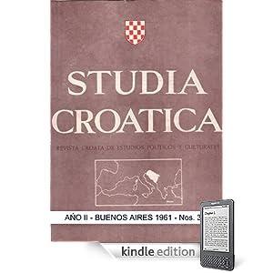 Studia Croatica - números 3-4 - 1961 (Spanish Edition)
