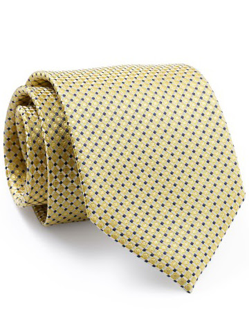 Mẫu Cravat Đẹp 8 - Vàng